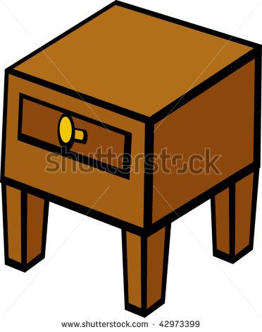 Clip art nightstand table. Furniture clipart night stand