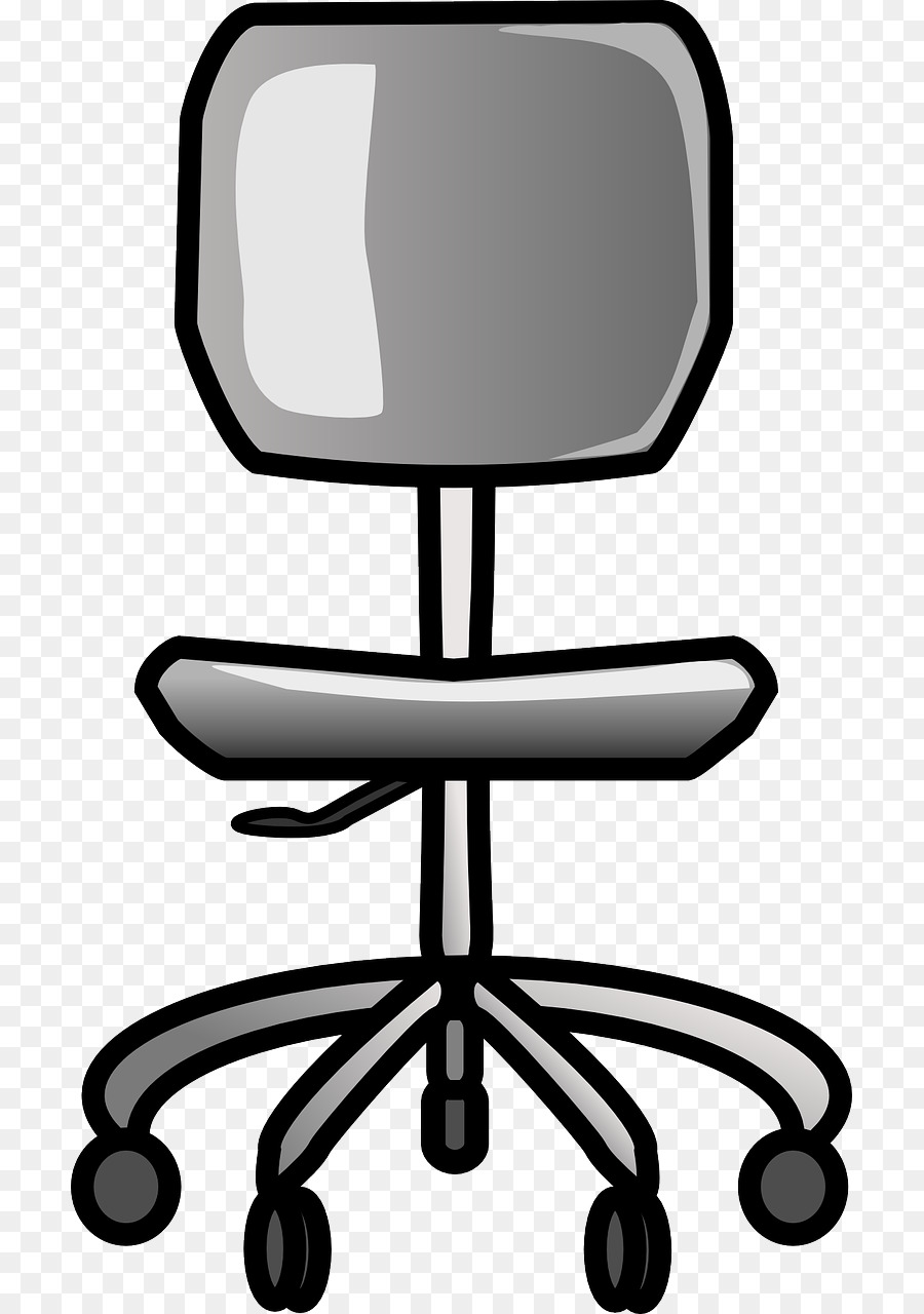 Furniture clipart office desk chair. Rolling chairs clip art