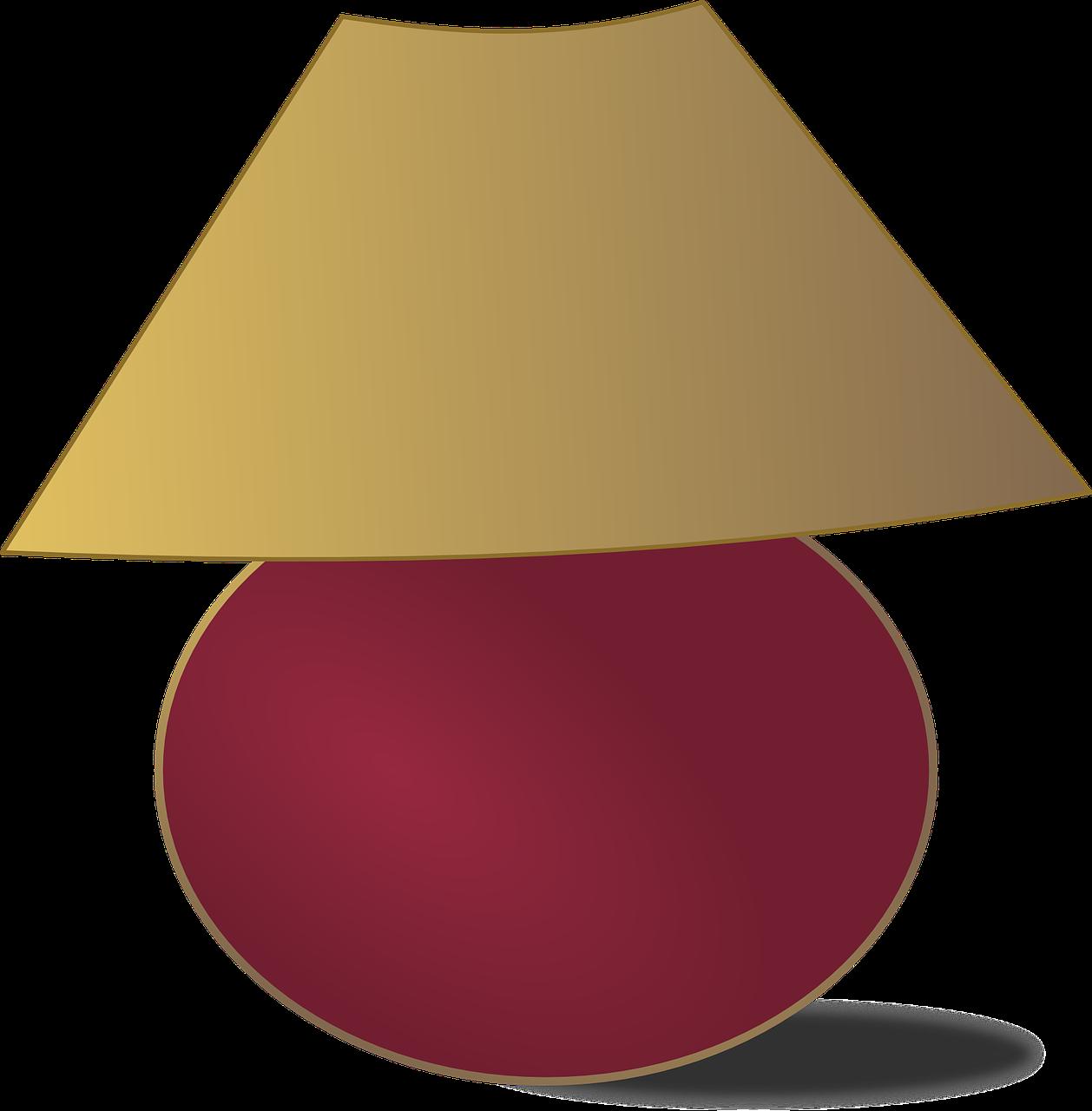 Light bedside transparent image. Furniture clipart pink lamp