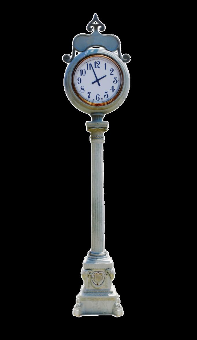 Post street clock stock. Furniture clipart pink lamp