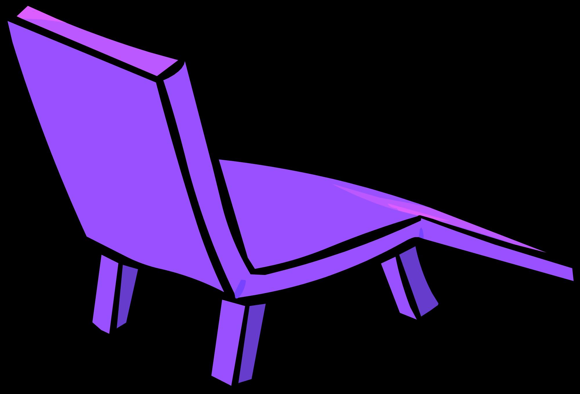 Image plastic lawn sprite. Furniture clipart purple chair