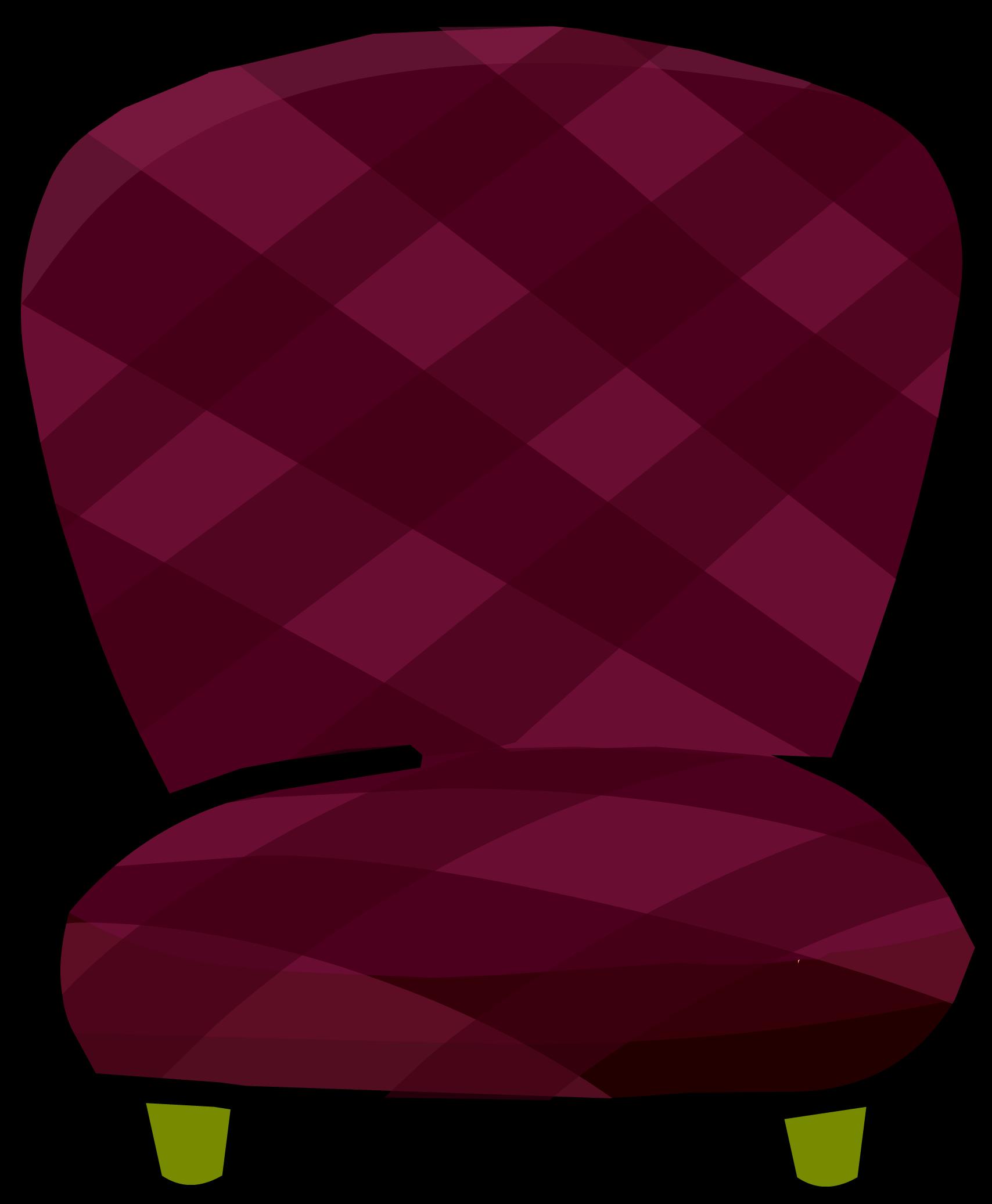Furniture clipart purple chair. Burgundy club penguin rewritten