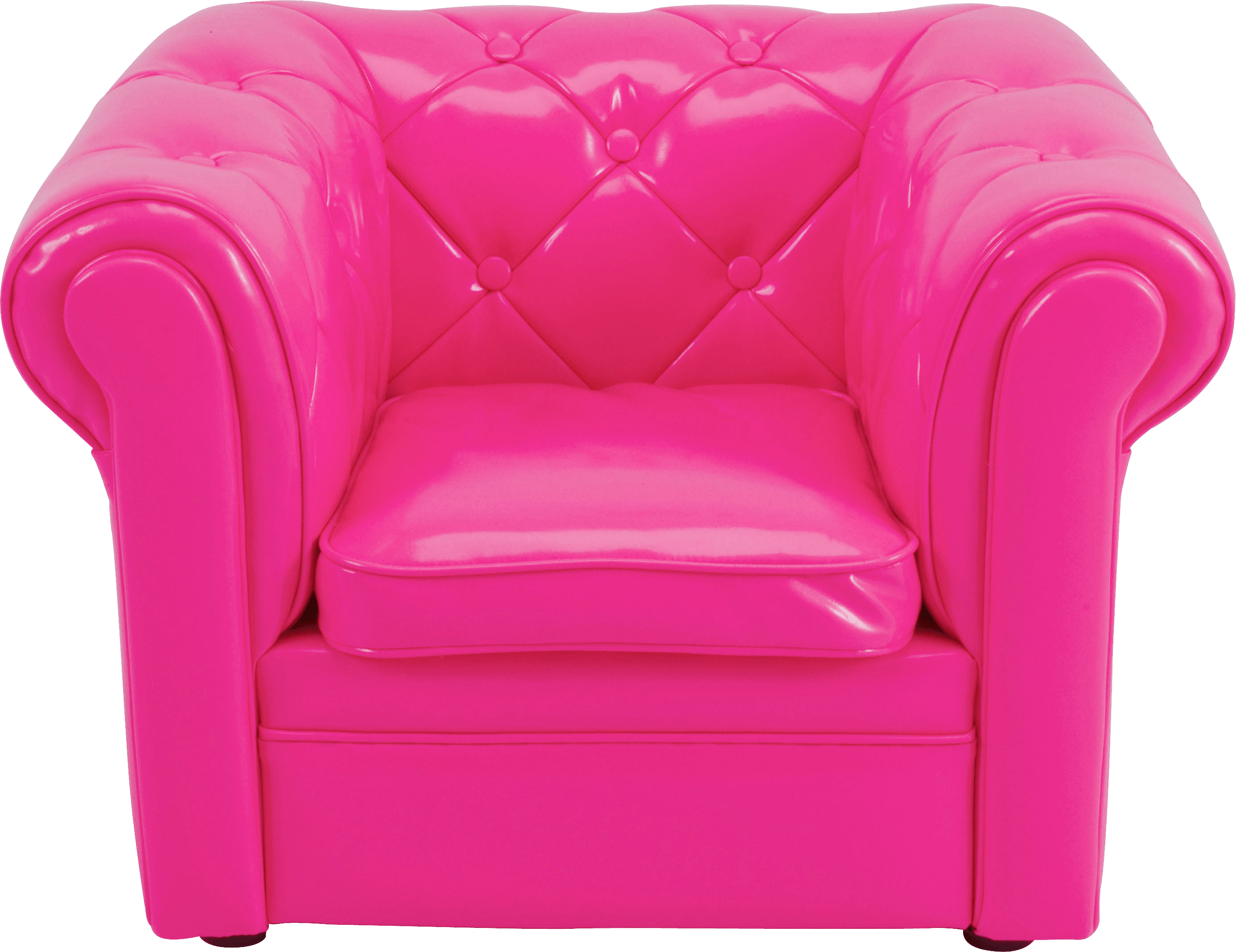 Armchair pink transparent png. Furniture clipart purple chair