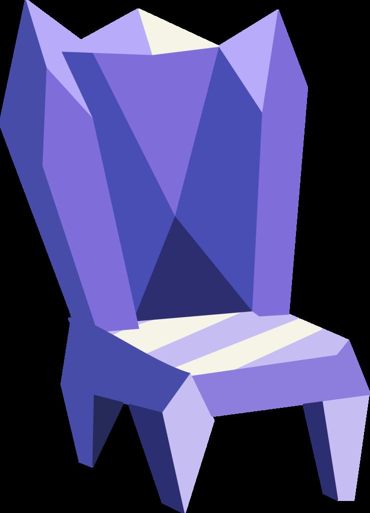 artist pink ejack. Furniture clipart purple chair