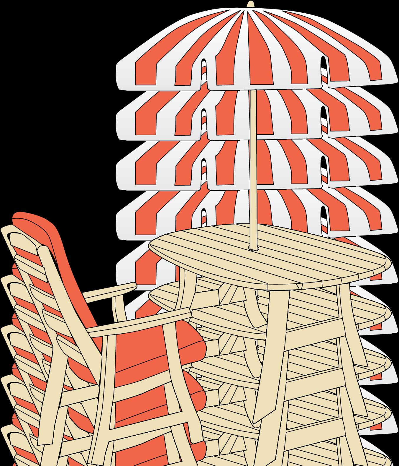 Patio umbrella clip art. Patient clipart chair