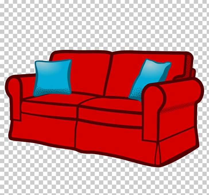 Furniture clipart red couch. Table chair png angle