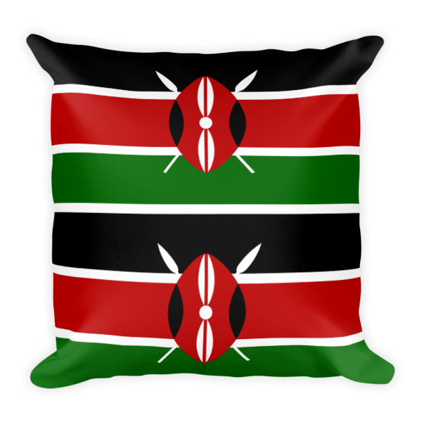 Kenya kutupa mto square. Furniture clipart red pillow