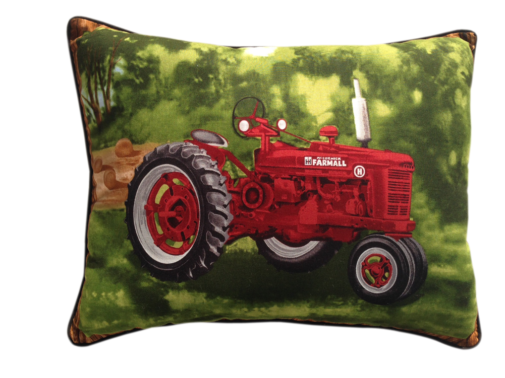 Ih farmall h tractor. Furniture clipart red pillow