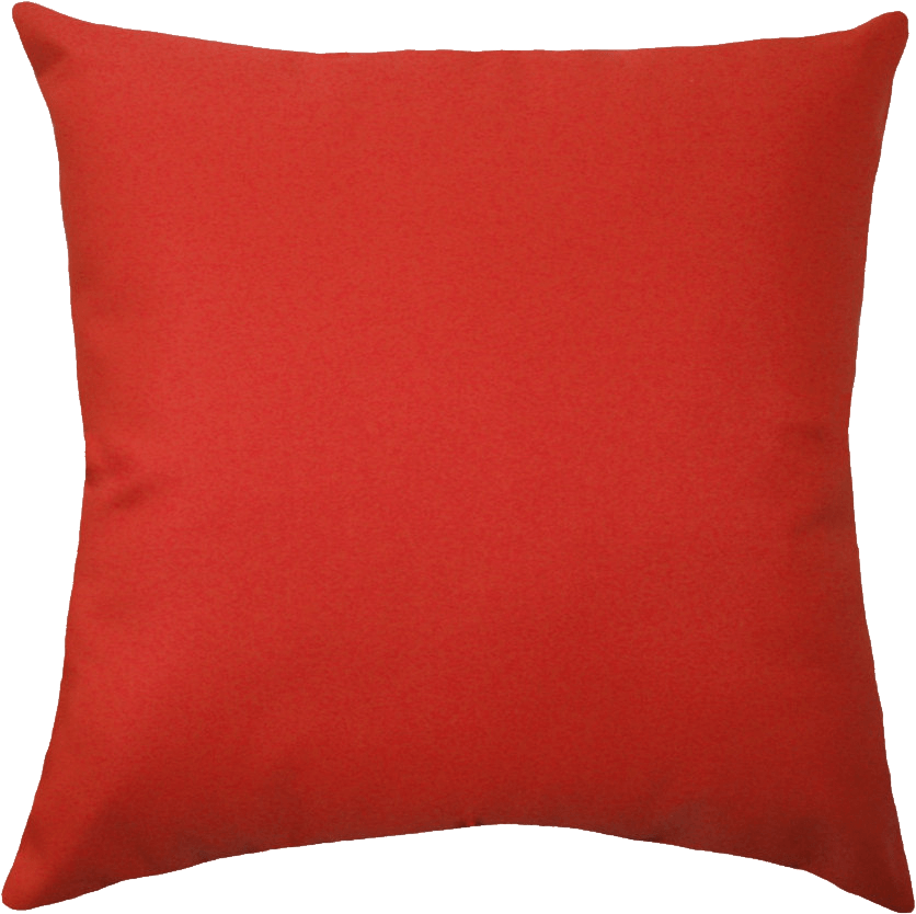 Furniture clipart red pillow. Large transparent png stickpng