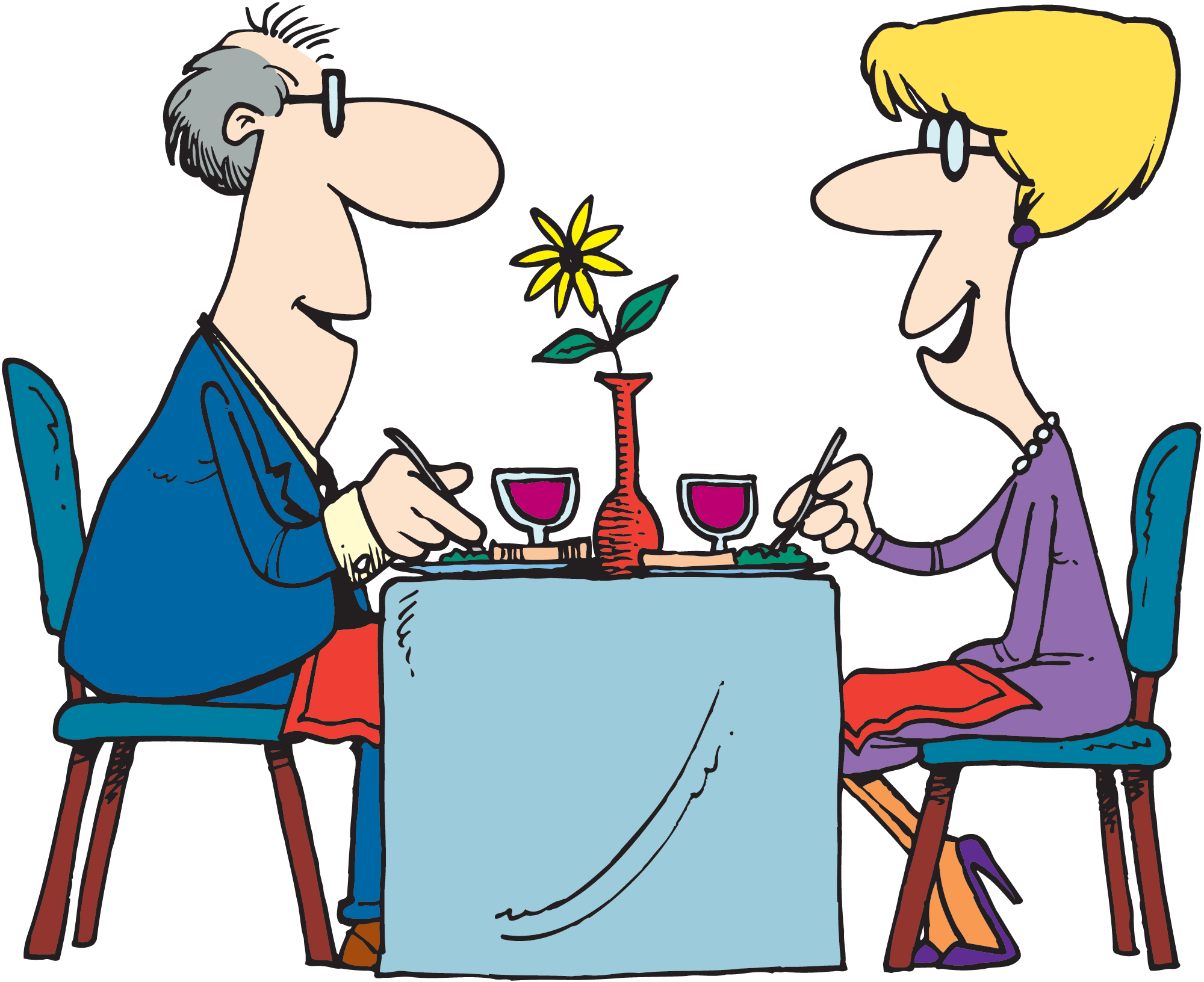 Furniture clipart restaurant table. Everything you always wanted