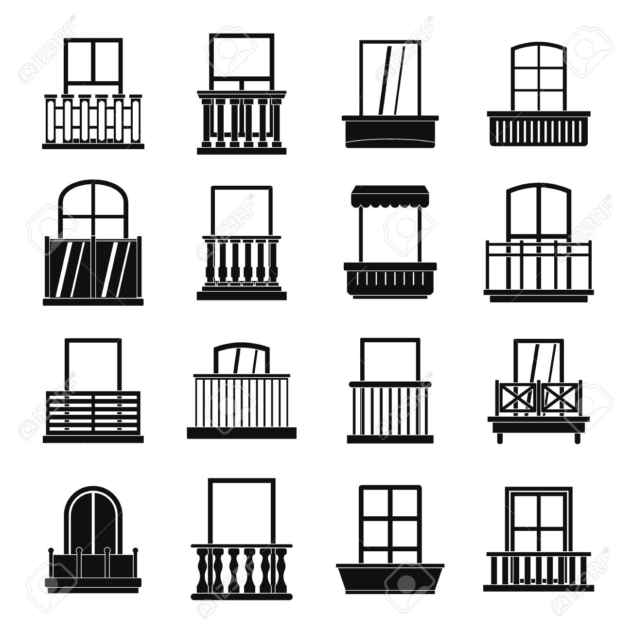 Furniture clipart simple window. Free download clip art