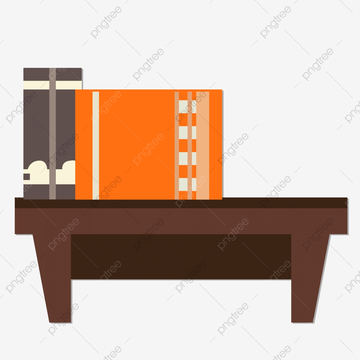 Cartoon hand drawn office. Furniture clipart simple window