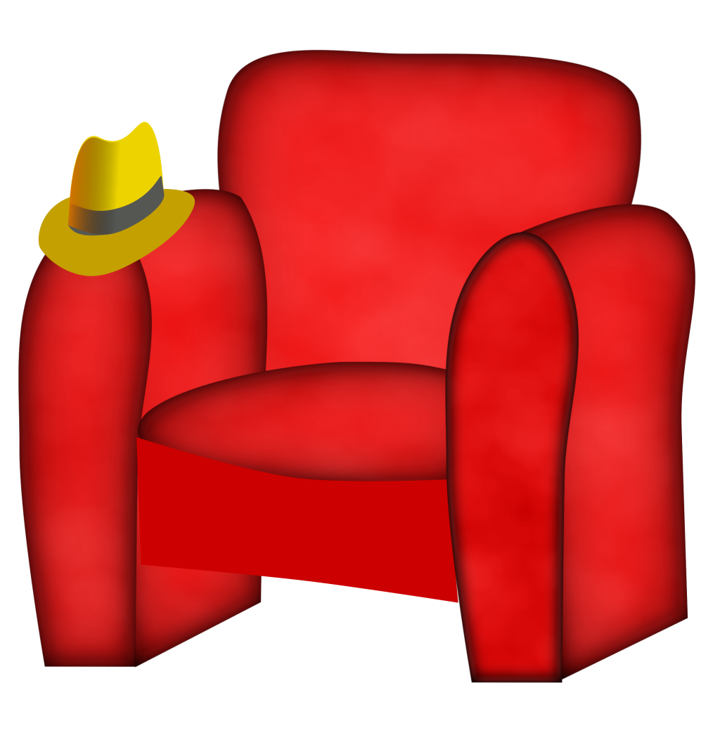 Furniture clipart small bed. Bedroom chair reading lounge