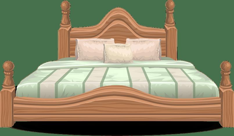 Free bedroom nakedsnakepress com. Furniture clipart small bed