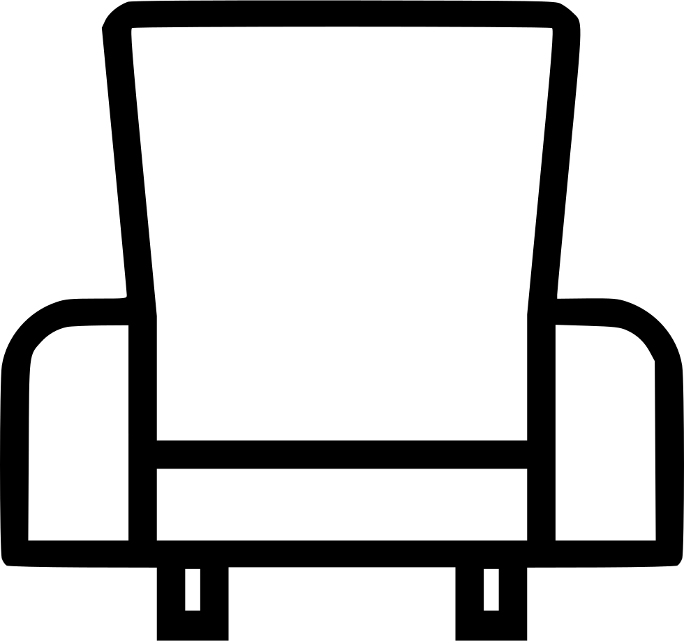 Furniture clipart soft chair. Leather home svg png