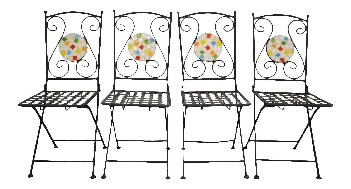 Set of wrought iron. Furniture clipart steel furniture