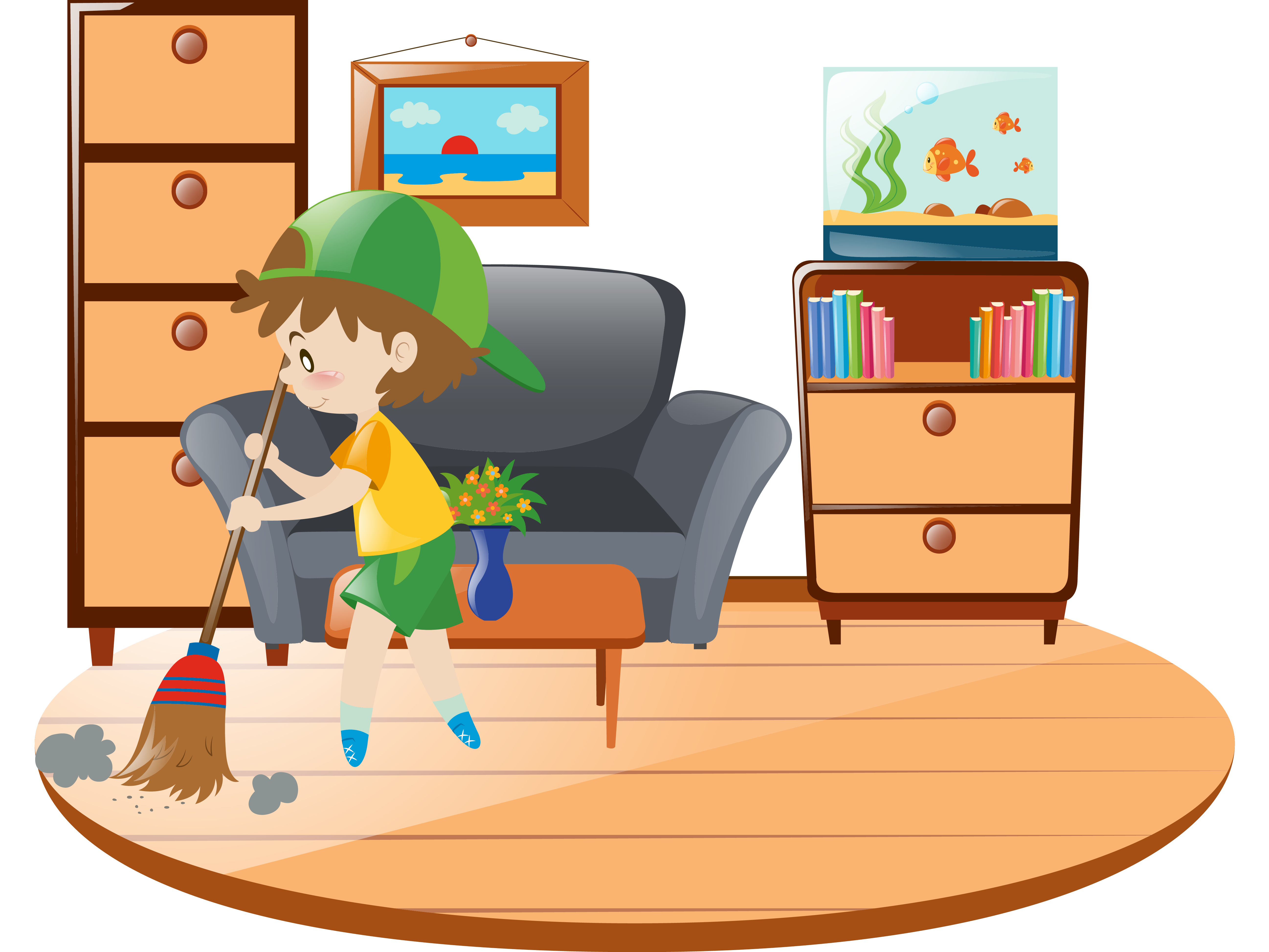 Uvc cleaning complete solution. Furniture clipart storefront