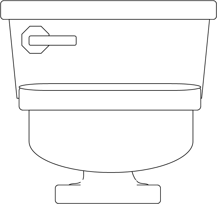 Furniture clipart toilet. Free images at clker