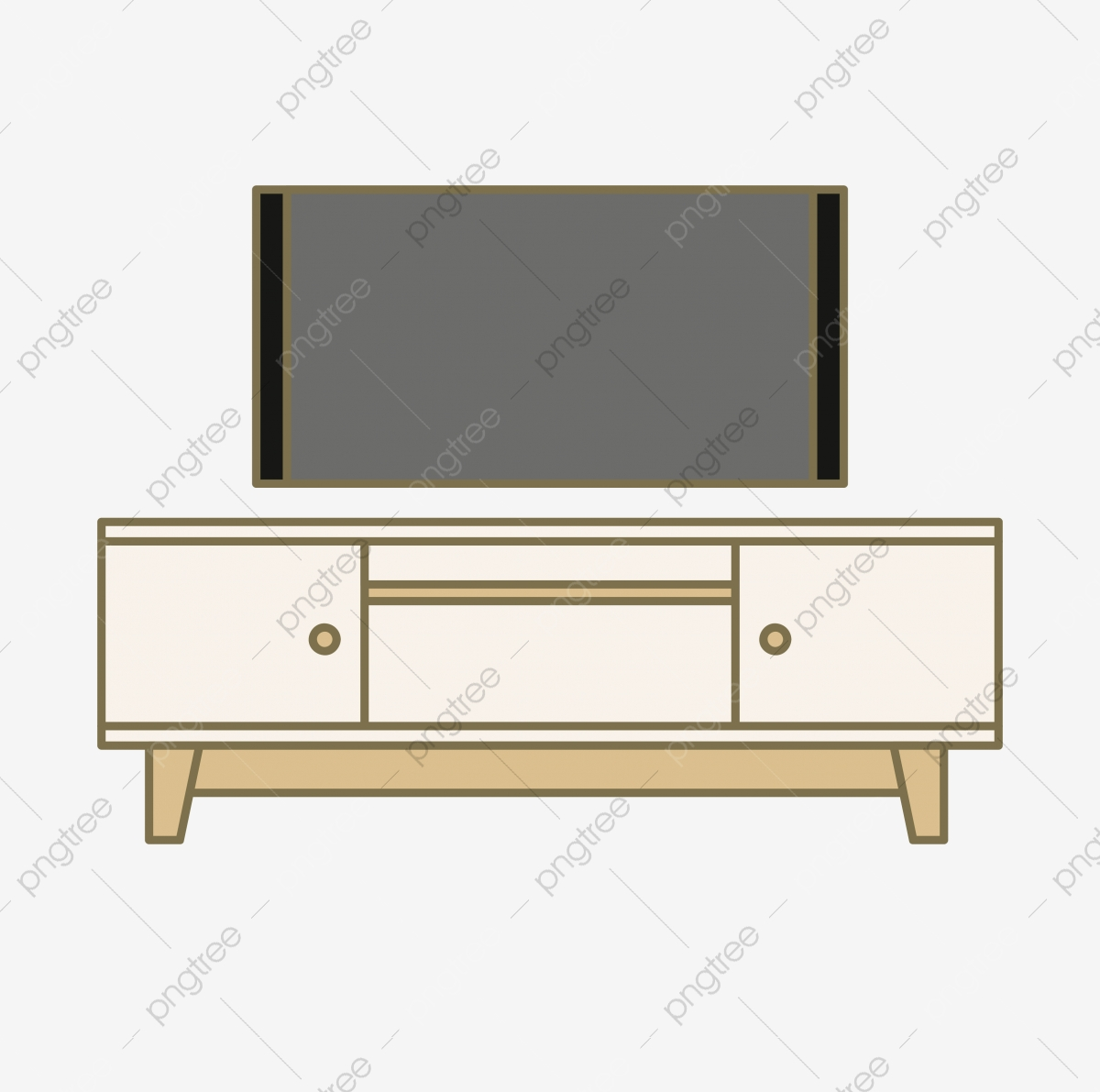 And a set of. Furniture clipart tv cabinet