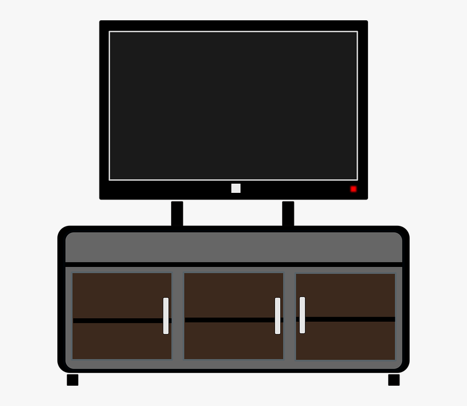 Furniture clipart tv cabinet. Cupboard cabal stand cartoon