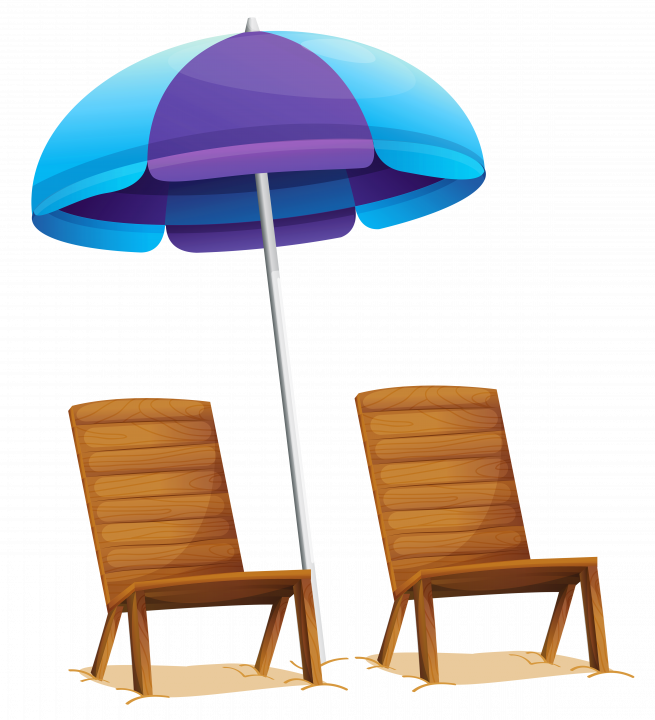 Beach umbrella chair best. Furniture clipart twenty
