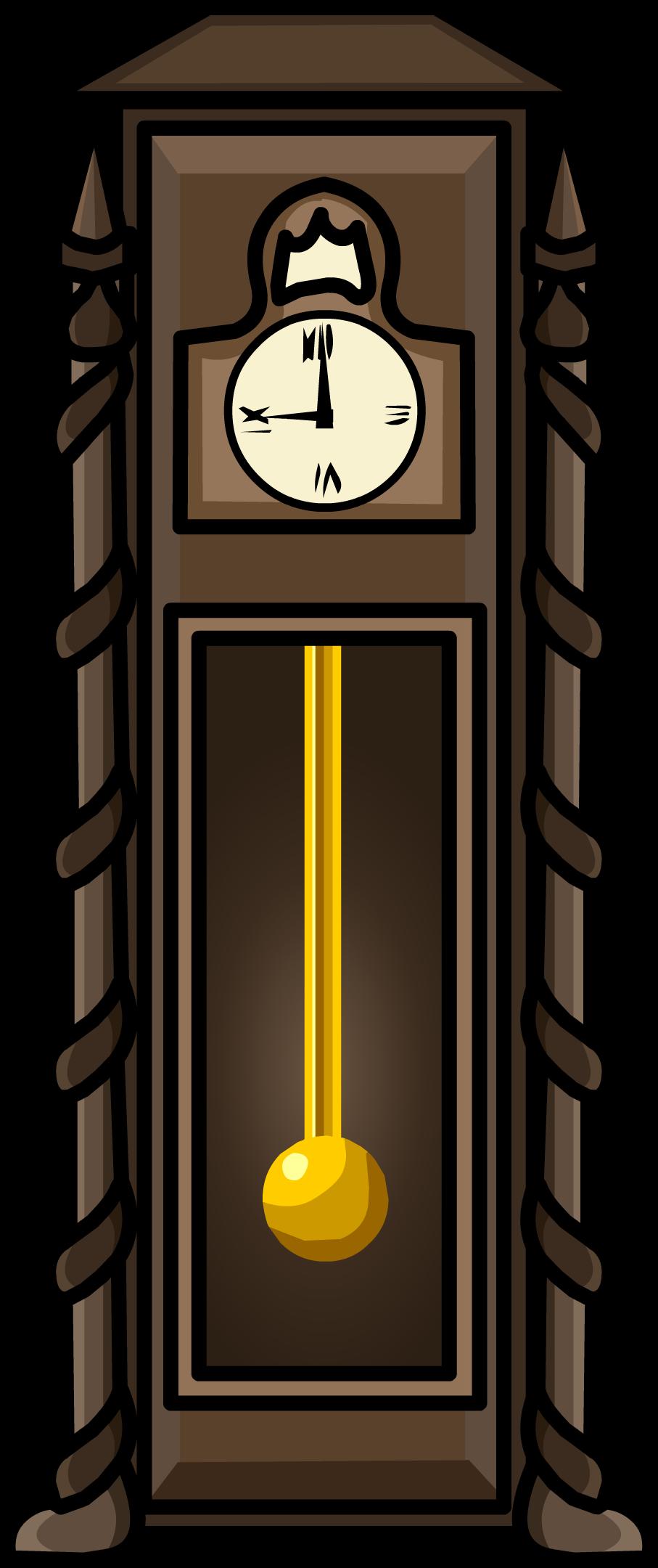 Image antique clock icon. Furniture clipart vintage furniture