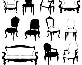 Free cliparts download clip. Furniture clipart wedding chair