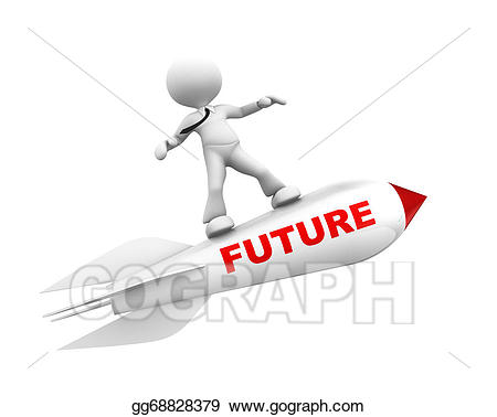 Stock illustration concept gg. Future clipart
