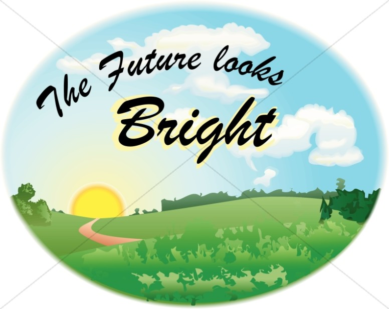 Future clipart. Bright christian graduation and