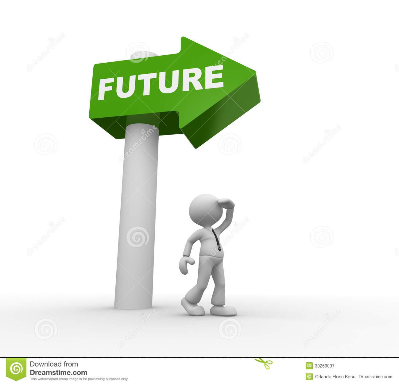 . Vision clipart future direction