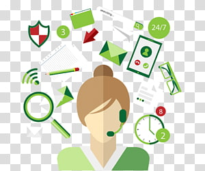 Virtual assistant png images. Future clipart administrative work