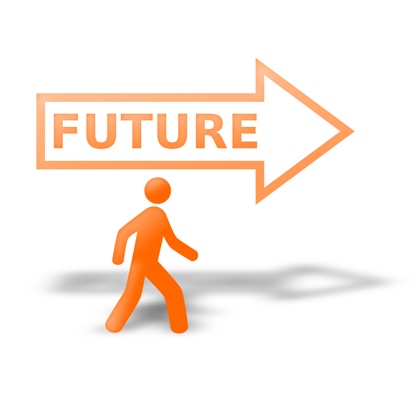 Future clipart brighter future.  collection of png