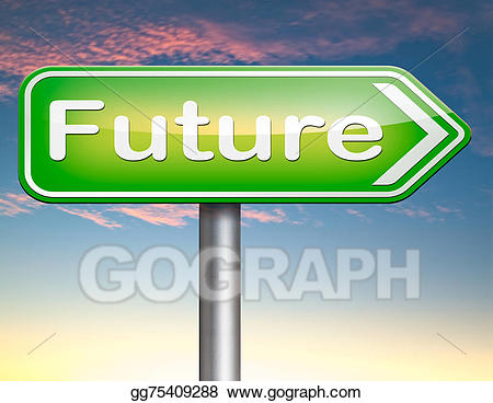 Stock illustration bright illustrations. Future clipart brighter future
