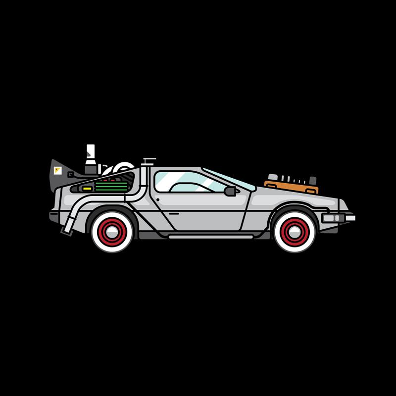 Future clipart car delorean. Ourclipart pin