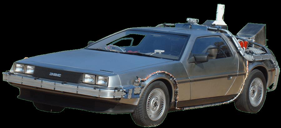 Future clipart car delorean. Transparent png stickpng
