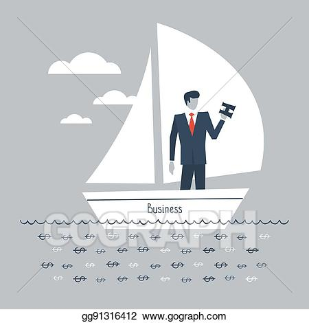 Future clipart corporate vision. Vector art business eps