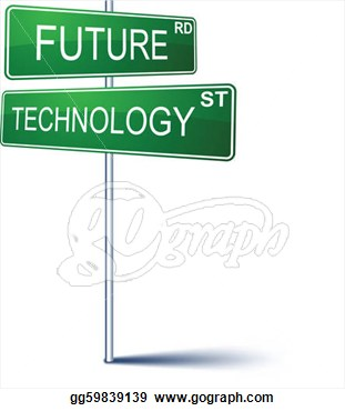Future clipart future sign. Technology panda free