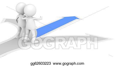 Stock illustration guidance illustrations. Future clipart guideline