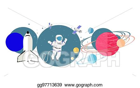 Eps illustration exploration new. Future clipart rocket science