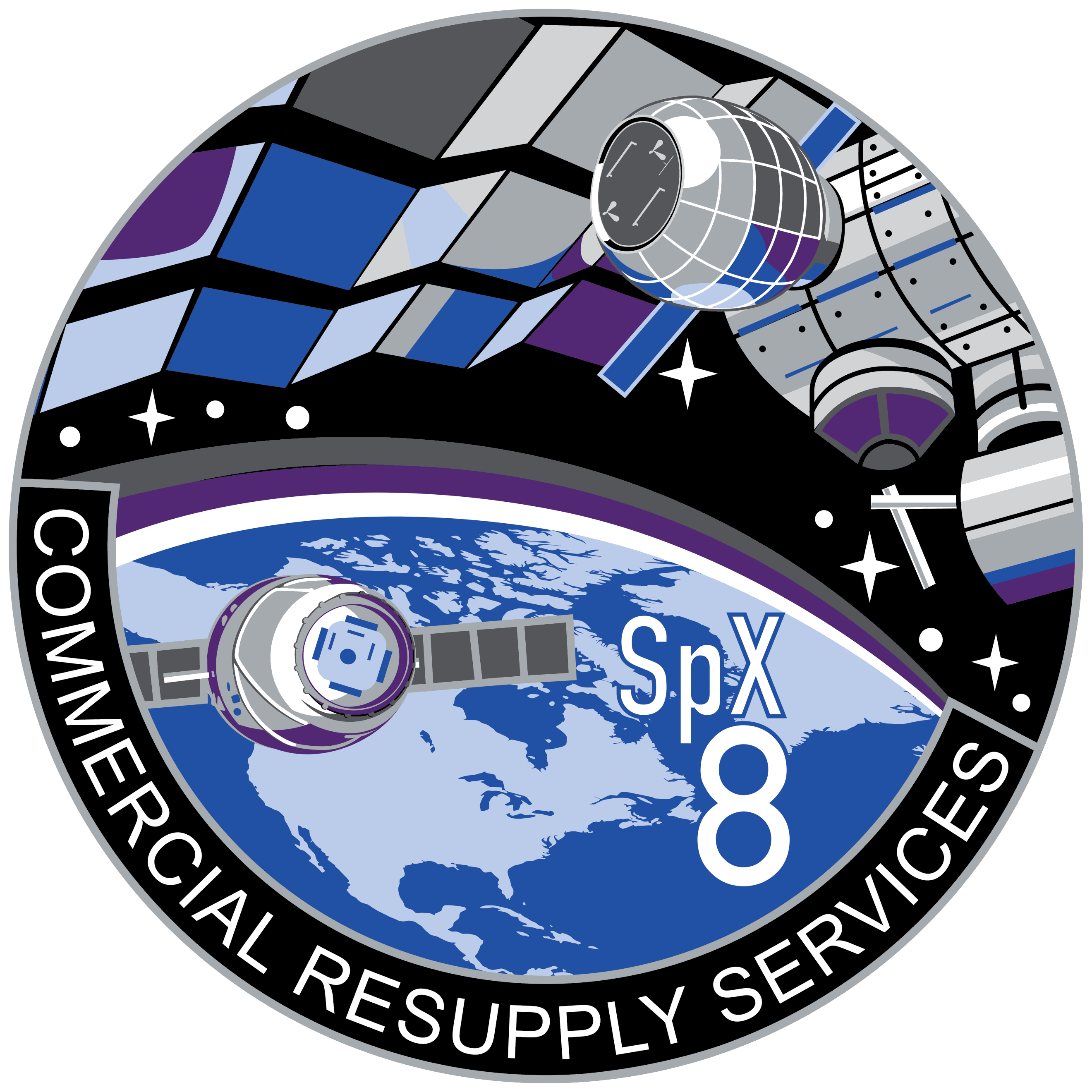 Beam patch from bigelow. Future clipart space mission