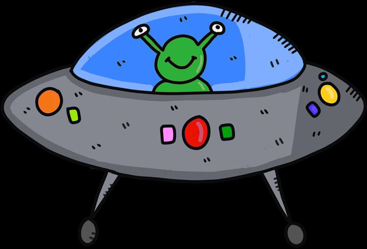 Future clipart spaceship. Hd alien ufo fantasy