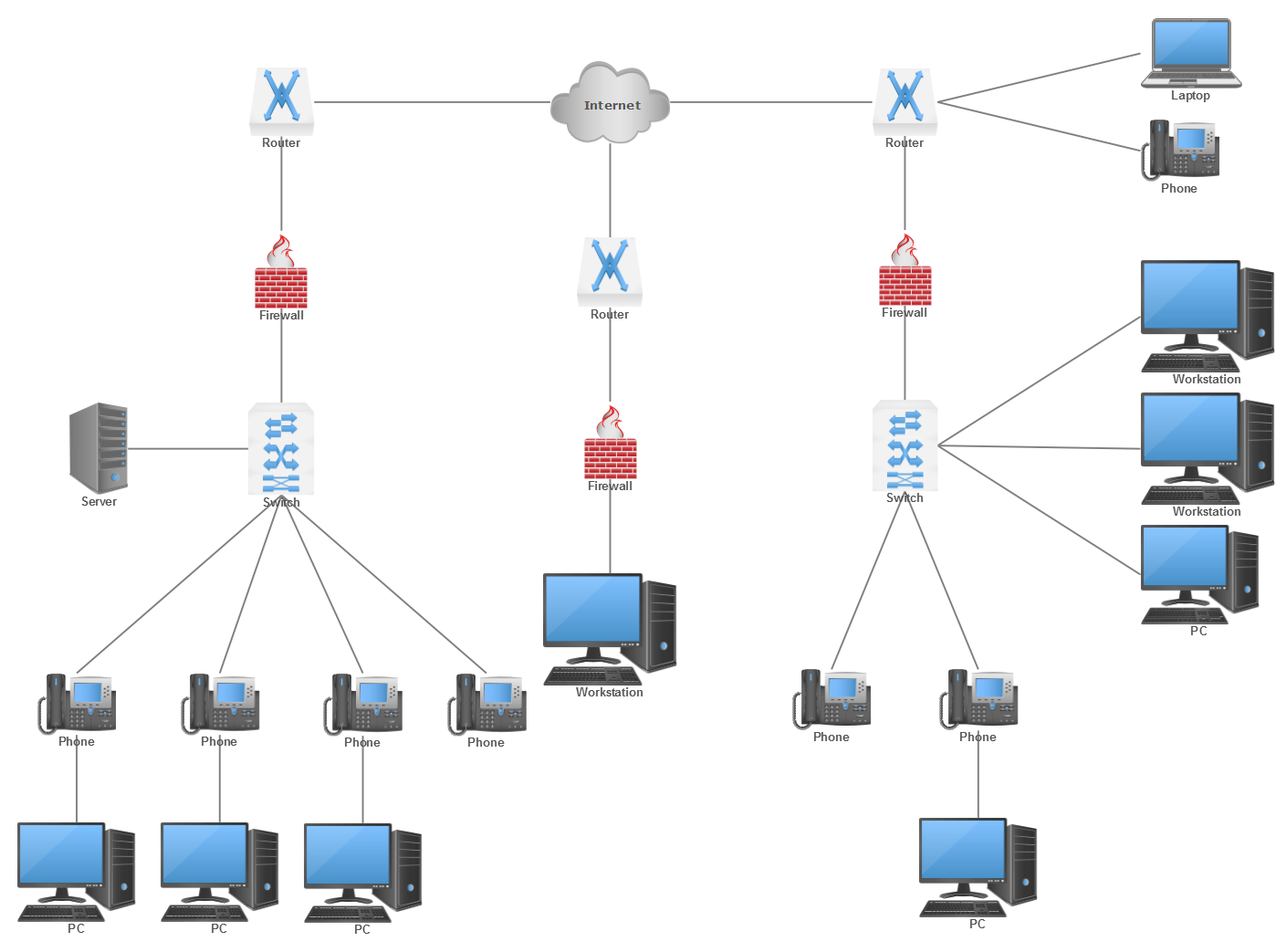 Network diagram drawing at. Future clipart topology