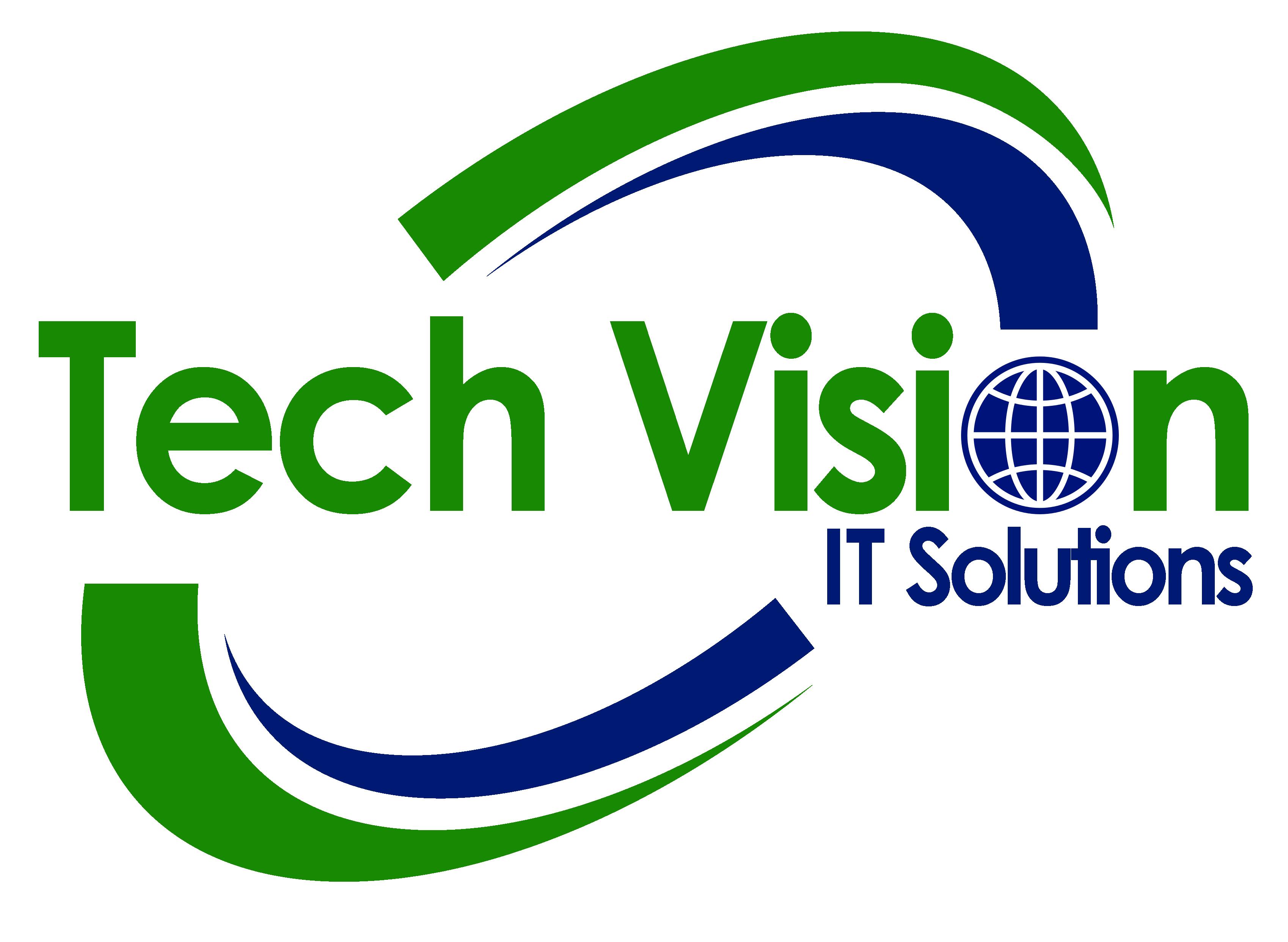 Vision clipart logo. Tech it solutions digital