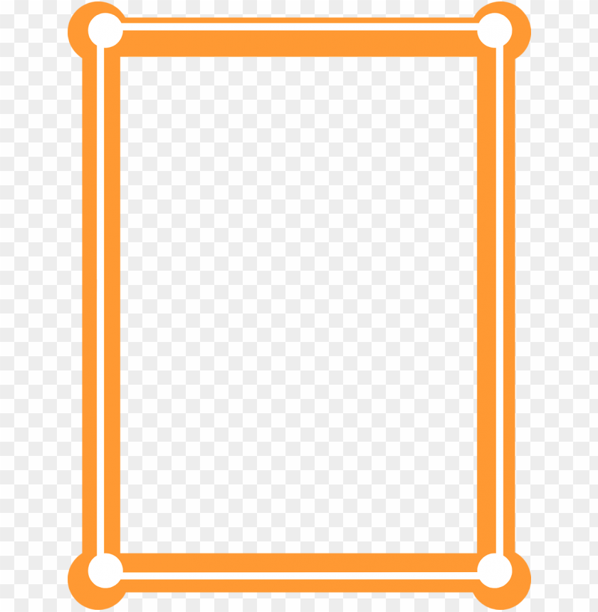 Orange goal goodwinmetals co. Futuristic border png