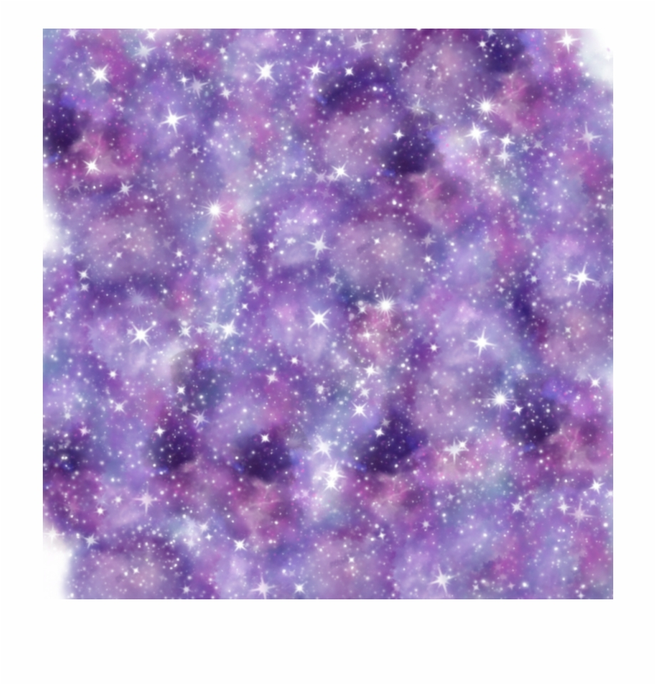 Overlay space stars sparkle. Galaxy clipart beautiful