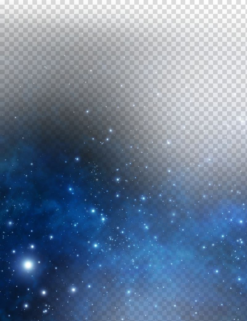Star and black transparent. Galaxy clipart blue