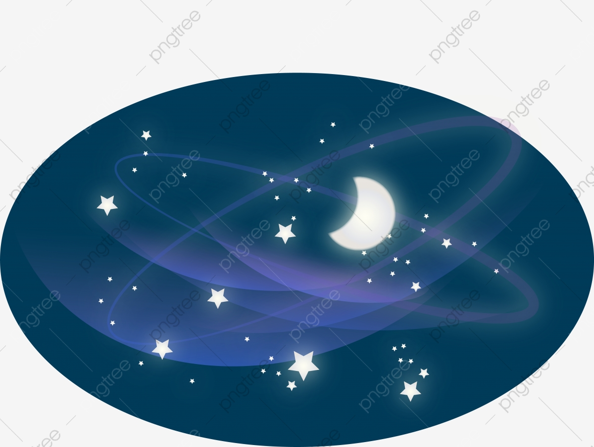 Colored milky way planet. Galaxy clipart category