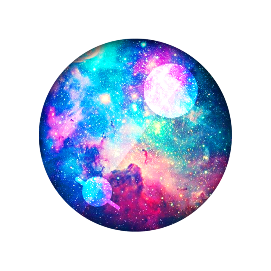 Galaxy clipart circle. Pizza background space transparent