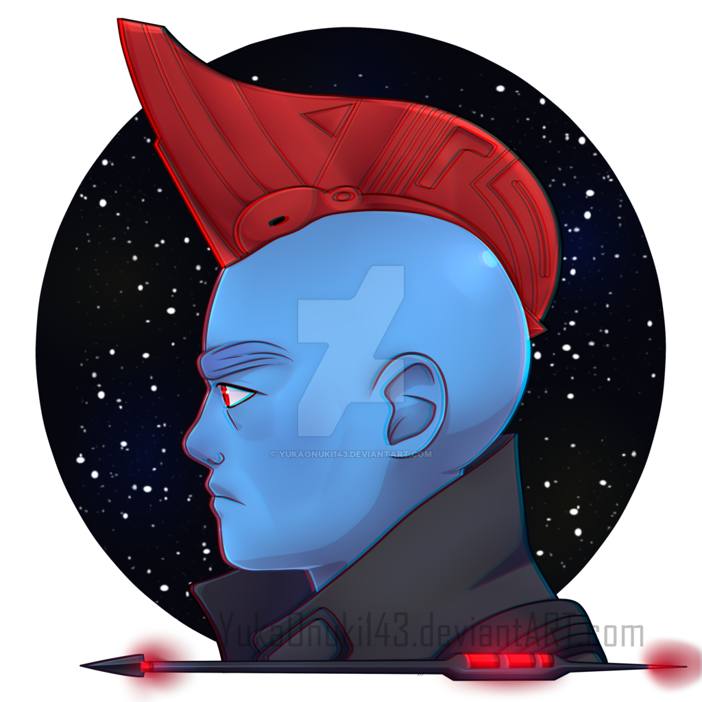 Guardians of the yondu. Galaxy clipart cool