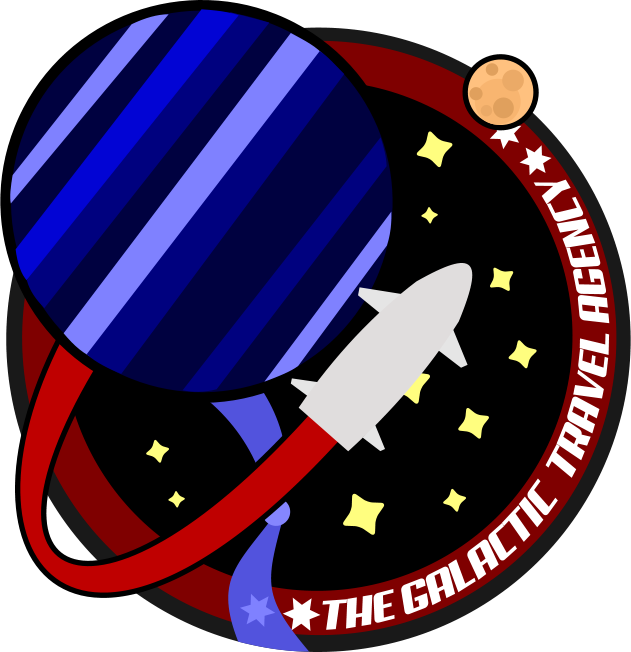Galaxy clipart galactic. The travel agency needs